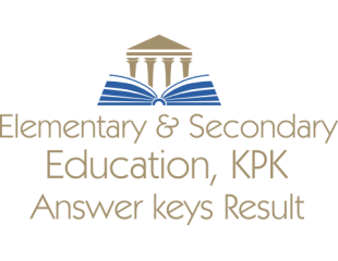 Elementary Secondary Education KPK NTS Test Answer Keys