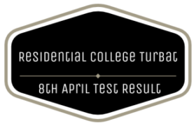 Balochistan Residential College Turbat NTS Recruitment Test 8th April Result
