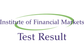 IFMP Institute of Financial Capital Markets NTS Test Sunday 15th April 2018 Result