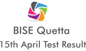 BISE Board of Intermediate Secondary Education Quetta NTS Test 15th April 2018 Answer Keys Result