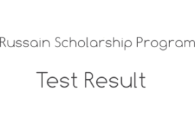 Russian Center for Science Culture Scholarship Program NTS Test 9th June 2018 Answer Keys Result