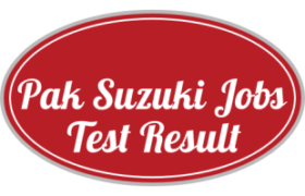 Pak Suzuki Motor Company Limited NTS Test Answer Keys Result S3 S4