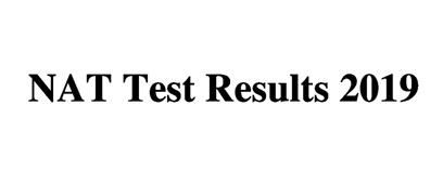 NTS National Aptitude Test NAT Test Result 2019