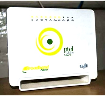 PTCL broadband password change