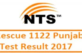 Rescue 1122 Jobs Driving Test NTS Result