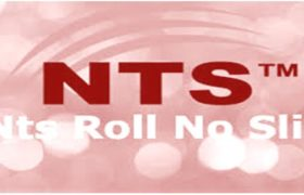 Pak Suzuki Motor Company NTS Test Roll Number Slip