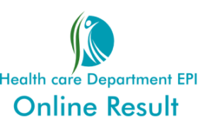 Health care Department EPI NTS Test Online Result