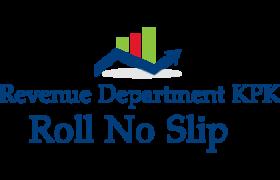 NTS Skill Test Revenue Department Roll no Slip