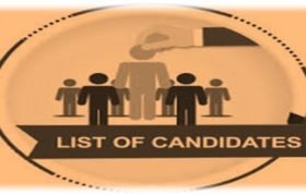 NTS Selected Candidate List