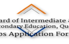 NTS Jobs Board of Intermediate & Secondary Education, Quetta