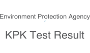 Environmental Protection Agency KPK EPA NTS Test 21st 22nd April 2018 Answer Key Result