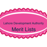 Lahore Development Authority LDA NTS Test Final Merit Lists Result