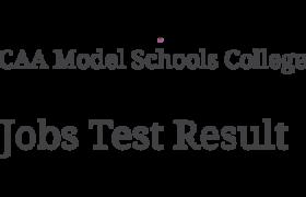 NTS Test CAA Model Schools College 30th June1st July 2018 Answer Keys Result