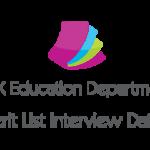 AJK Elementary Secondary Education Department NTS Merit List