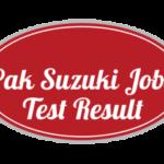 Pak Suzuki Motor Company Limited NTS Test Answer Keys Result S3 S4