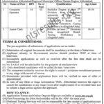 Tehsil Municipal Administration TMA Abbottabad Jobs Via NTS