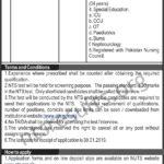 Ayub Teaching Hospital Abbottabad Charge Nurse Jobs Via NTS