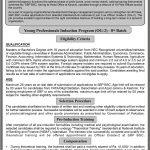 SBP Banking Services Corporation SBP BSC 8th Batch Young Professionals Induction Program OG 2 Jobs Via NTS