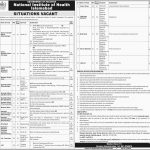 National Institute Of Health Islamabad NIH Jobs OTS Test Result