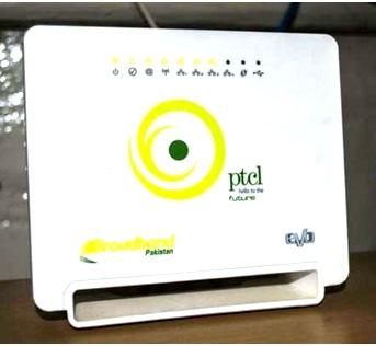 PTCL broadband password change