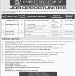 Cabinet Secretariat Aviation Division Jobs ITSPAK Test Roll No Slip