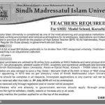 Sindh Madressatul Islam University Karachi Higher School Teacher NTS Test Result