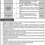 Commissioner Office Peshawar Jobs NTS Test Roll No Slip