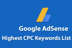 Adsense High CPC Keywords List