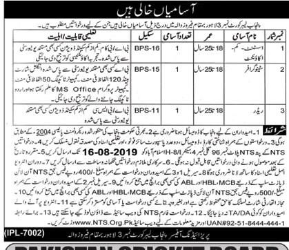 Punjab Labor Court No 03 Lahore Ferozewala Jobs NTS Test Answer Keys Result