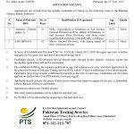 Pakistan Tobacco Board PTB Jobs Ministry of Commerce PTS Test Roll No Slip