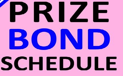 Prize bond Schedule 2020
