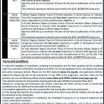 Deputy Commissioner Swabi CDLD Jobs Via NTS