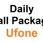 Ufone One Day Call Package