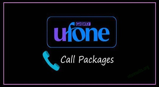 Ufone Call Packages To All Networks