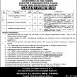 Archives Library Wing SGAD Punjab Civil Secretariat Jobs