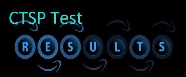 CTSP Test Result