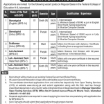 Federal College of Education Islamabad OTS Test Roll No Slip