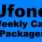 Ufone Weekly Call Package 7 days Call Package
