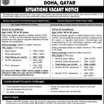 Pakistan International School Doha Qatar PISQDOHA Jobs NTS Test Result