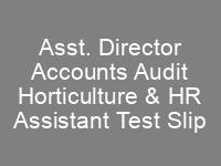 Civil Aviation Authority CAA Jobs NTS Test Roll No Slips Asst. Director Accounts Audit Horticulture HR Assistant