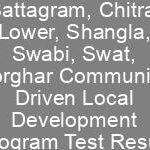 DC Office Battagram Chitral Lower Shangla Swabi Swat Torghar CDLD Jobs NTS Test Result