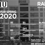 IU Iqra University Admissions Test Result Merit List