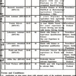 Directorate Agriculture Research ARI Jobs ATS Roll No Slip Tarnab Peshawar