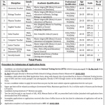 DPSC Jahanian Khanewal Jobs NTS Test Roll no Slip Divisional Public School & College