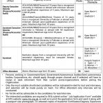Public Sector Organization Jobs NTS Roll No Slip