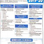 University of Peshawar MS MPhil LLM PhD Admission NTS Roll No Slip Special GAT GENERAL & GAT SUBJECT 2019-2020 Spring Semester
