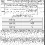 KPK Education Ministry Jobs FTS Roll No Slip SST DM TT