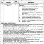 Directorate General of Sports Khyber-Pakhtunkhwa Jobs Via NTS Application Form Assistant Engineer
