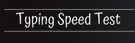 Typing Speed Test Online Typing Test In English Online Typing Test NTS PTS OTS CTS ITSPAK STS