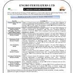 Engro Fertilizers Limited Trade Apprentice Hiring Jobs NTS Roll No Slip